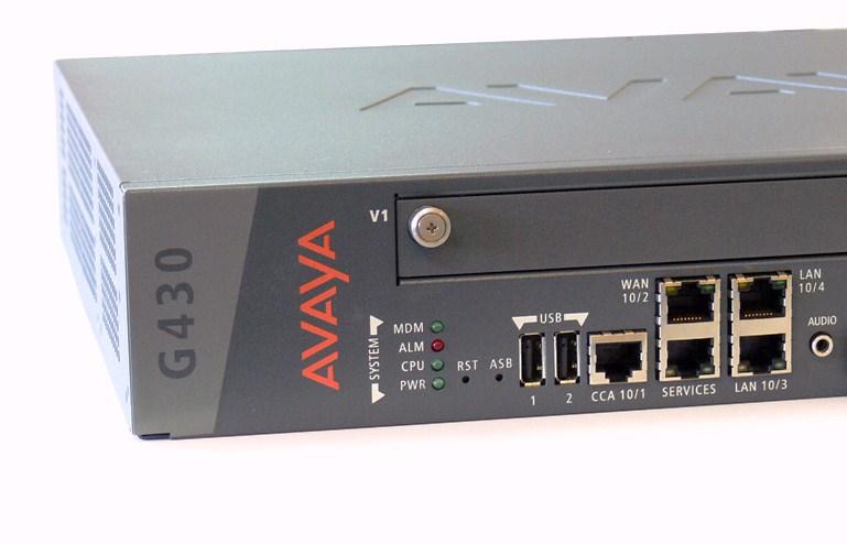 Avaya G430 Gateway